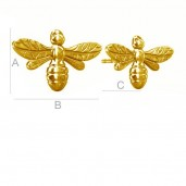 Bee Earring Studs, Jewelru Findings, ODL-00081