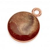 Gießharz-Schmuck, Silberschmuck, Bronze, Pendant 011
