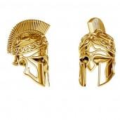 Greek Helmet, Jewelry Findings, ODL-00646
