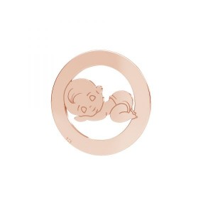 Kinderschmuck, Junge, Silberschmuck, LKM-2361 - 0,50 17,5 mm