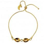 Bracelet Base, Swarovski Pear Fancy 4320, Silver Jewelry, OKSV 4320 MM 14 BR+SL2