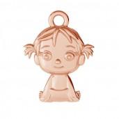 Kleines Mädchen Anhänger, Schmuckteile, Babyschmuck, ODL-00503