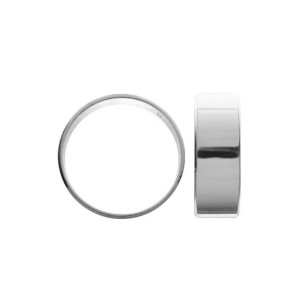 Ring Basis, Silberringe, Silberschmuck, OB 01854 7 mm