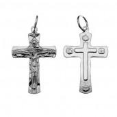 Kreuz-Anhänger, Silberschmuck, Schmuckteile, ODL-00441