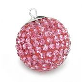 DISCOBALL ROSE 20 MM