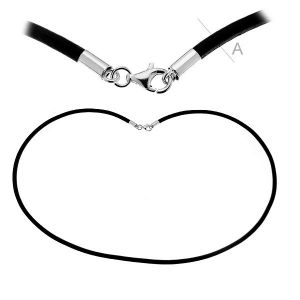 LEATHER CORD - 3,00 mm / 50 cm