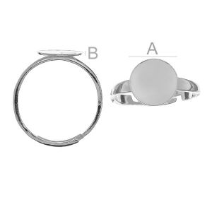 Ring Basis, 10mm, Verstellbarer Ring,  GWP 10