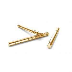 14K 585 Gold Ohrstifte - SZTZ 1 (AU 585)