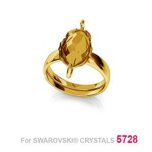 Ring Swarovski Skarabäus, Silberringe, 12mm S-RING 014 (5728 MM 12)