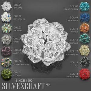 Classic Cut Pendant, Swarovski Crystals, 6430 MM 14,0 CRYSTAL VM P